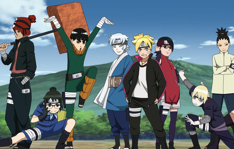 Wallpaper Game Naruto Anime Boy 2018 Ninja Manga Shinobi Hitaiate Genin Montain Uchiha Sarada Uzumaki Naruto Boruto Metal Lee Mitsuki Images For Desktop Section Syonen Download