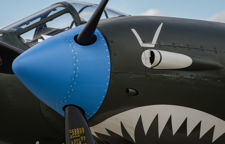 Photo wallpaper aviation, the plane, propeller