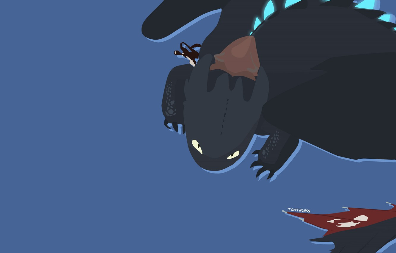 Wallpaper Toothless Minimalism How To Train Your Dragon Images