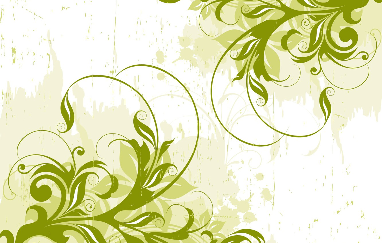 Wallpaper Abstract Green Design Background Vector Images