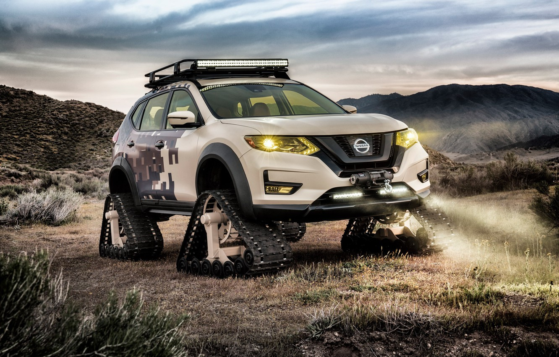 Photo wallpaper car, concept, Nissan, Nissan Rogue Trail Warrior Project