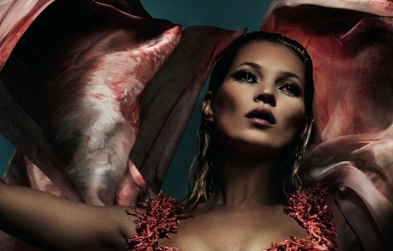 Photo wallpaper look, style, model, makeup, dress, actress, Kate Moss