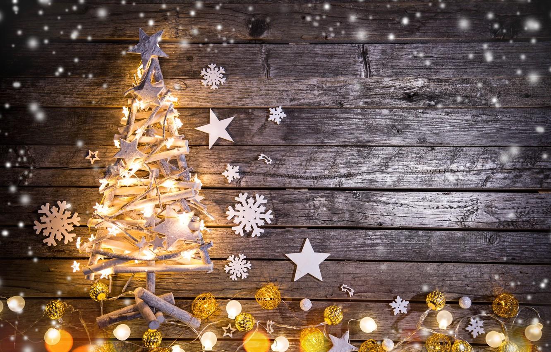 Wallpaper Winter Snow Merry Christmas Decoration Christmas Tree Images For Desktop Section Novyj God Download
