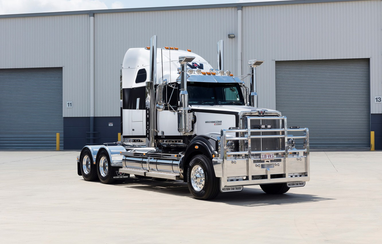 Photo wallpaper Australia, Trucks, Western Star