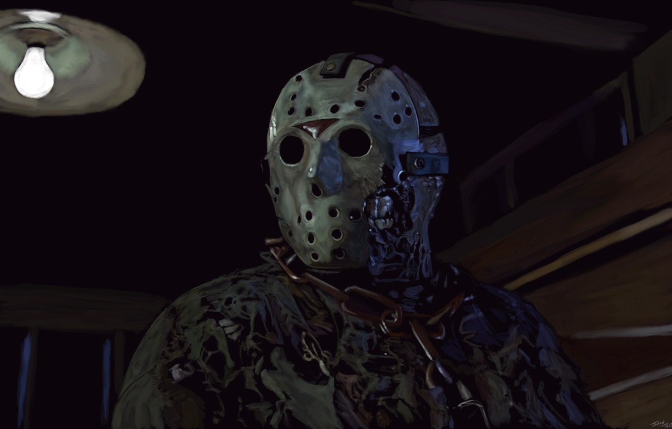 Wallpaper Mask Art Friday The 13th Jason Voorhees Images