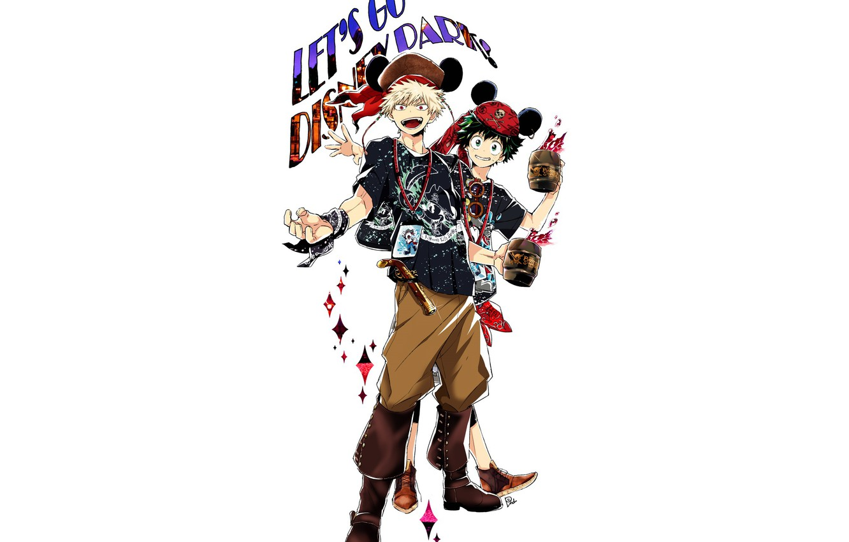 Photo wallpaper anime, art, guys, costumes, Boku no Hero Academy, My heroic academia