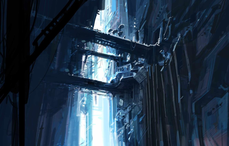 Wallpaper Half Life 2 Art Valve Citadel Images For Desktop