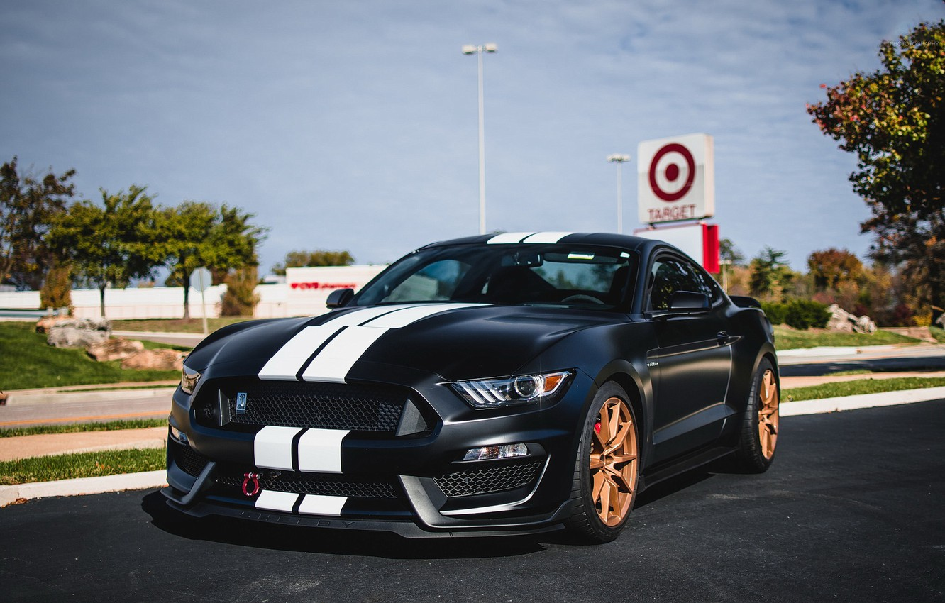 Photo wallpaper Mustang, Shelby, GT350