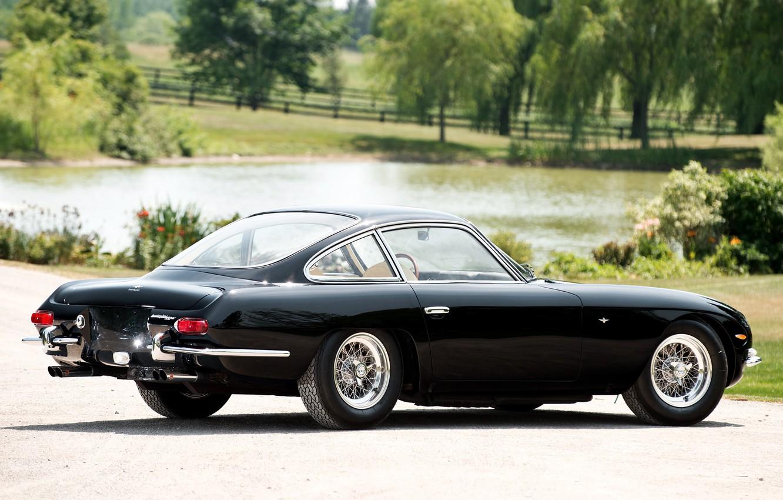 Photo wallpaper Lamborghini, Black, 350 GT, 1964