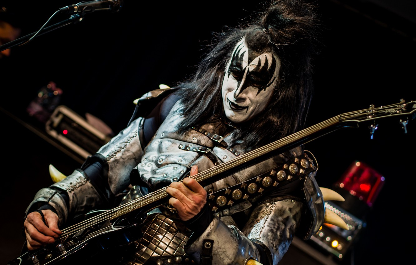 Wallpaper Music Guitar Kiss Forever Band Images For