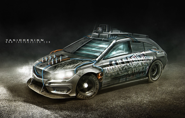 Photo wallpaper car, auto, tuning, car, auto, tuning, Mercedes - Benz, Yasid Design, Yasid Oozeear