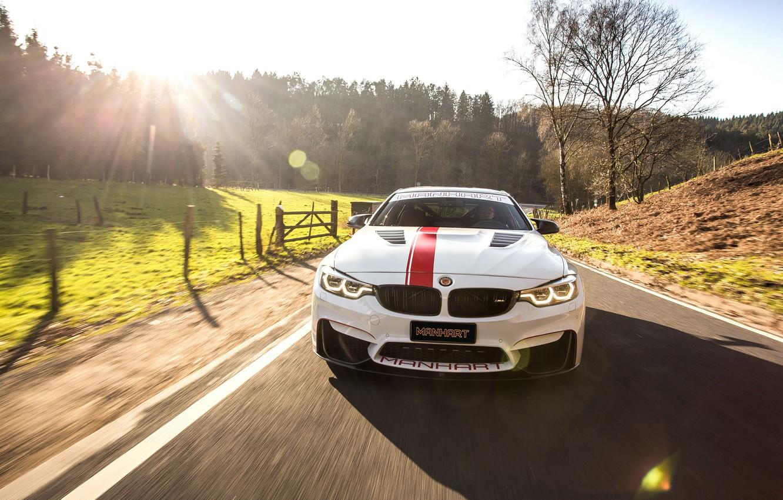 Photo wallpaper 2018, 550, BMW M4, Manhart Racing, MH4