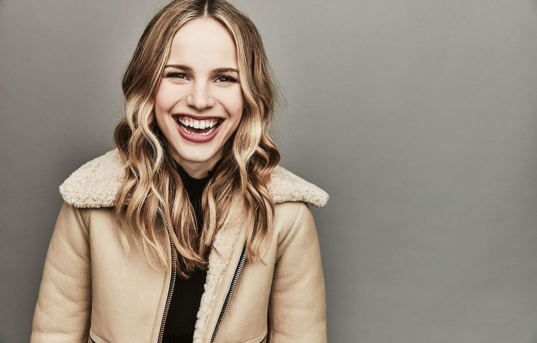 Photo wallpaper smile, actress, Halston Sage