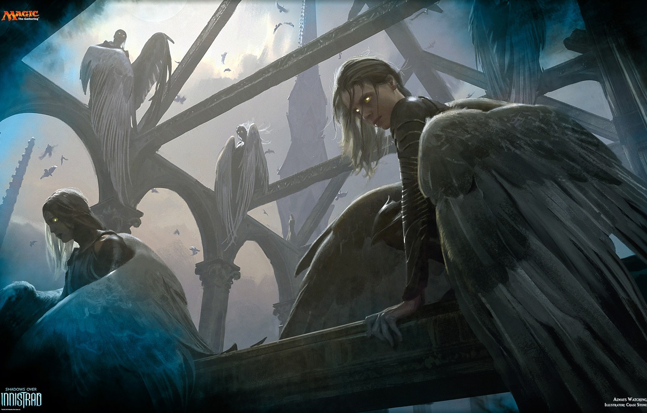 Photo wallpaper Magic the Gathering, Always Watching, Innistrad, Ghase Stone