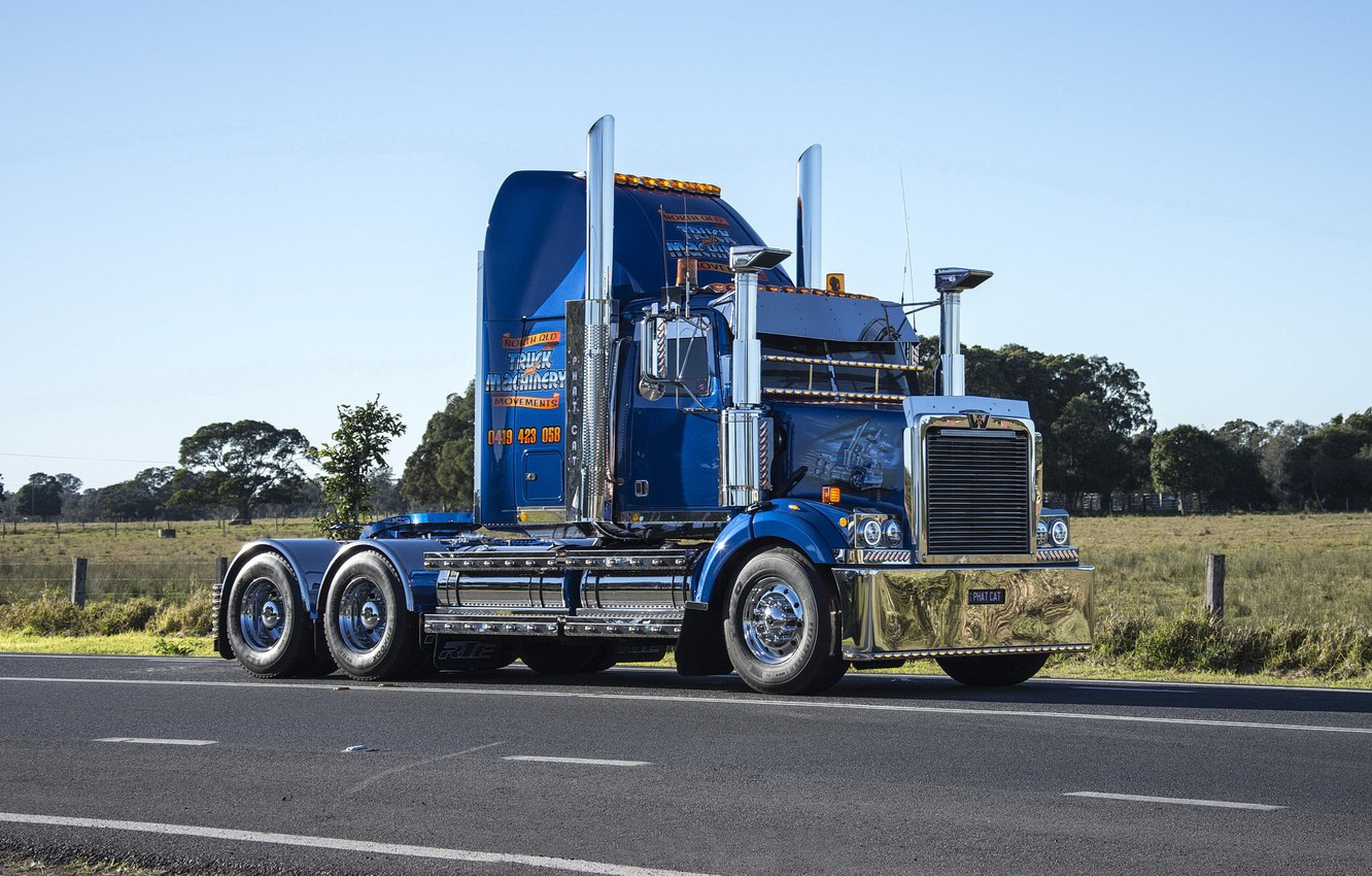 Photo wallpaper Moves, Western Star, Qld, Machinery, Nth