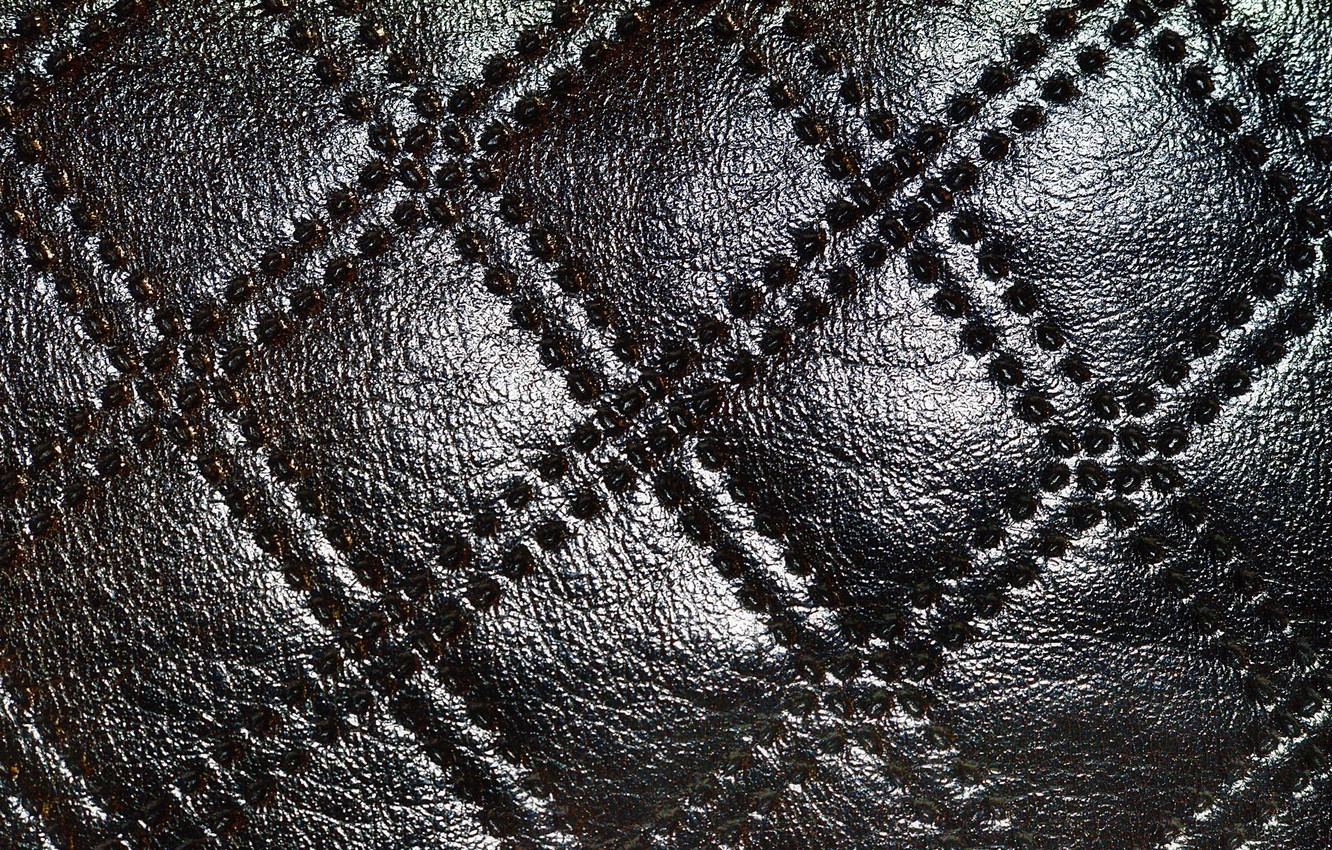Photo wallpaper surface, leather, ornament