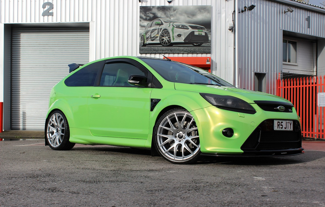 Photo wallpaper ford, focus, mkII