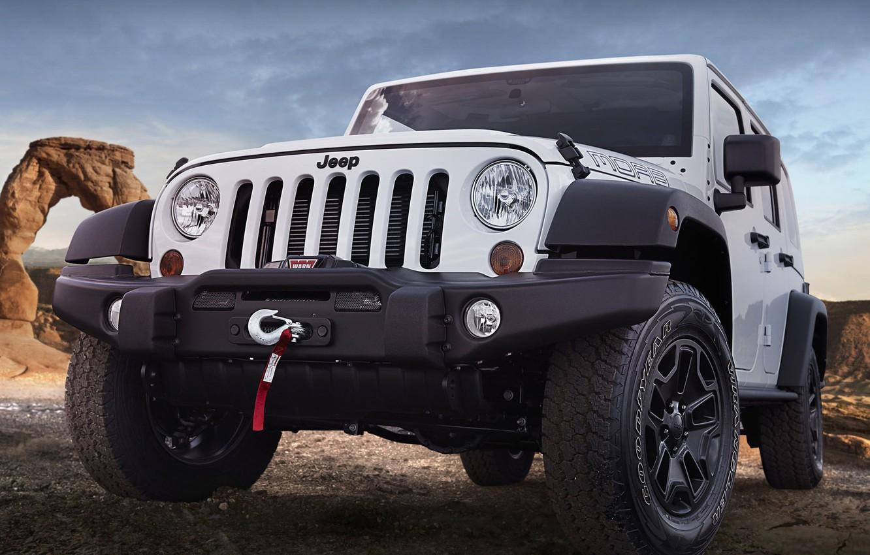 Photo wallpaper SUV, Wrangler, Jeep, Moab
