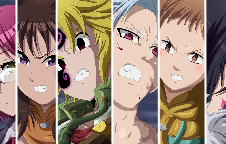 Wallpaper Game Anime Seven Deadly Sins Oriental Nanatsu No
