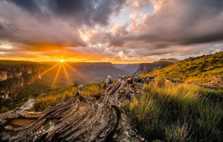 Photo wallpaper beauty, nature, landscape, sunset