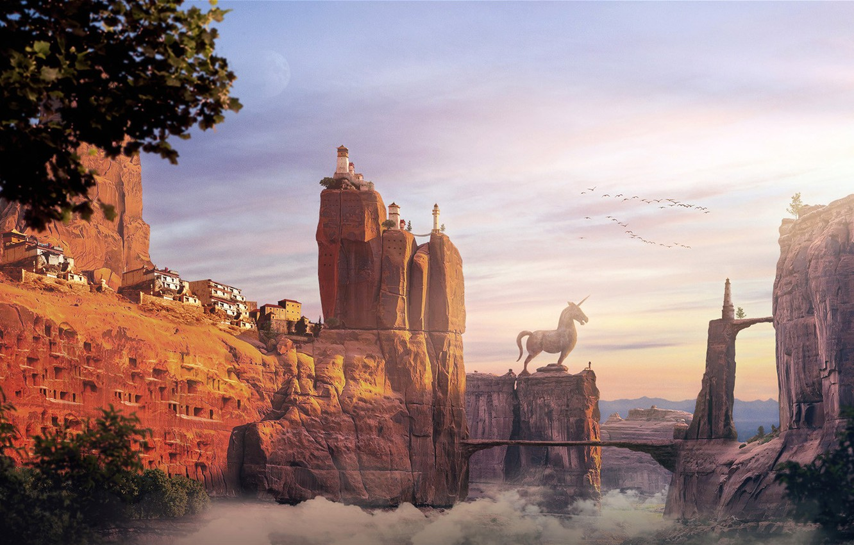 Photo wallpaper the Kingdom of Trojan horse, Alfie Rodriguez, Trojan Horse Kingdom