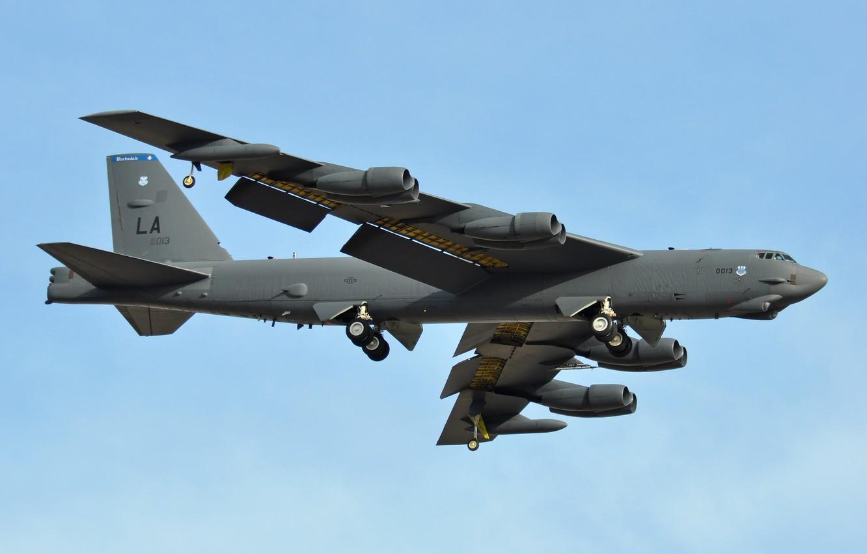 Photo wallpaper Boeing, missile, strategic bomber, STRATO fortress, B-52H