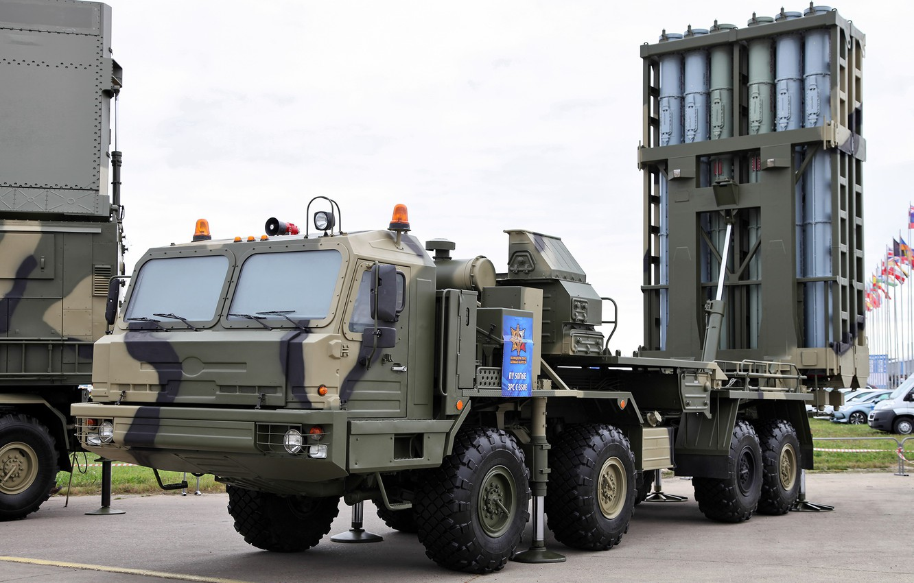 Photo wallpaper self-propelled, Knight, SAM, S-350, BASES, launcher, stable position