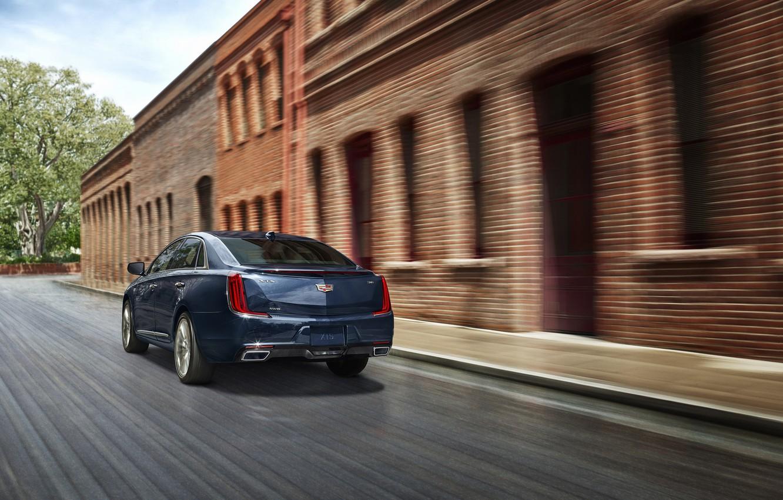 Photo wallpaper car, Cadillac, fast, Cadillac XTS