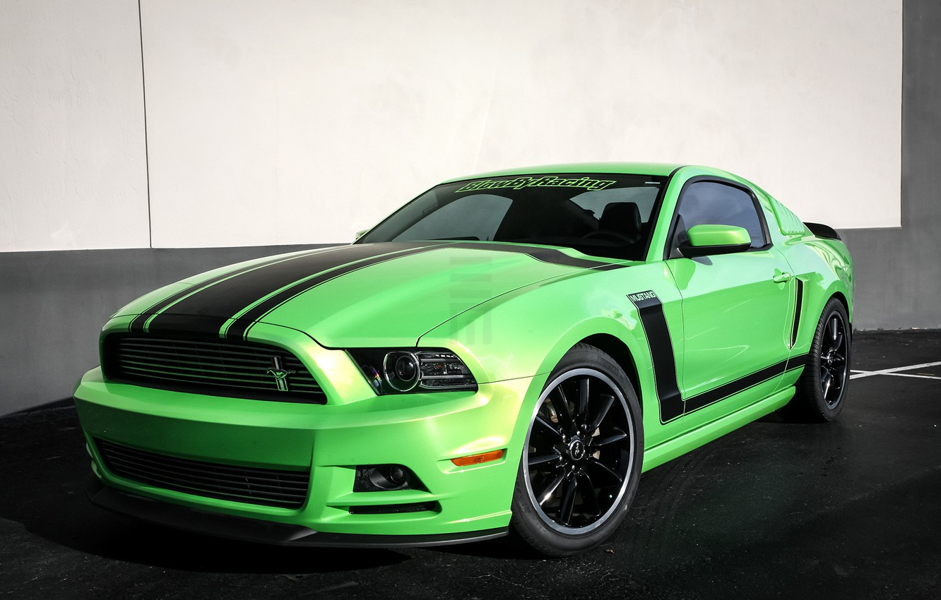 Photo wallpaper Mustang, Ford, Customized