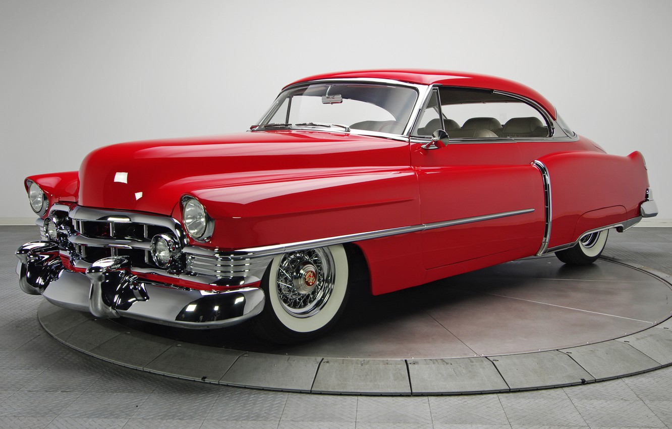 Photo wallpaper Cadillac, coupe, 1950, Series 61