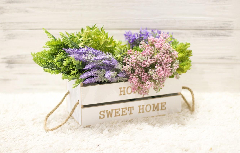 Photo wallpaper flowers, bouquet, wood, flowers, beautiful, sweet, home