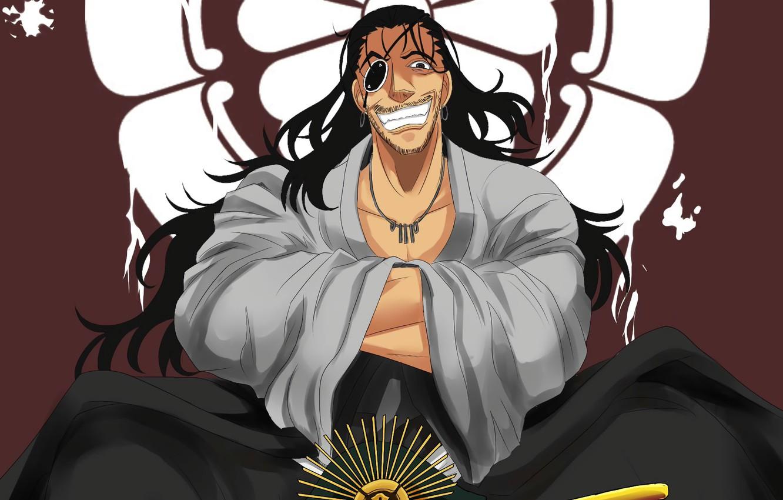 wallpaper blood smile anime man samurai asian japanese kimono
