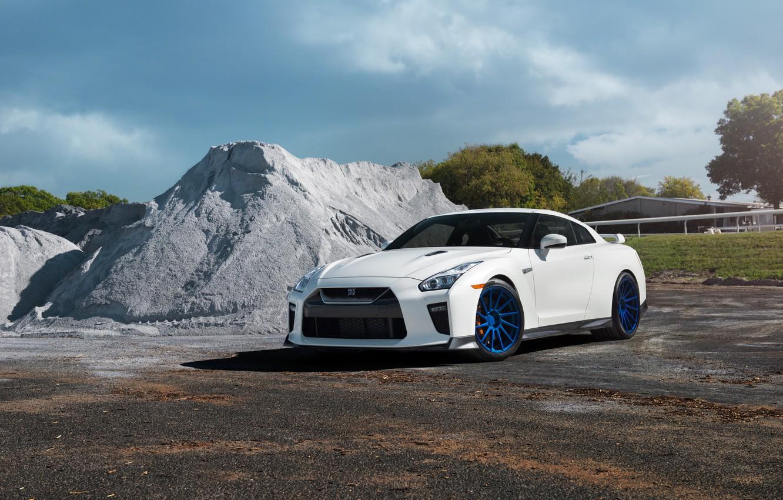 Photo wallpaper GTR, Nissan, Wheels, Niche