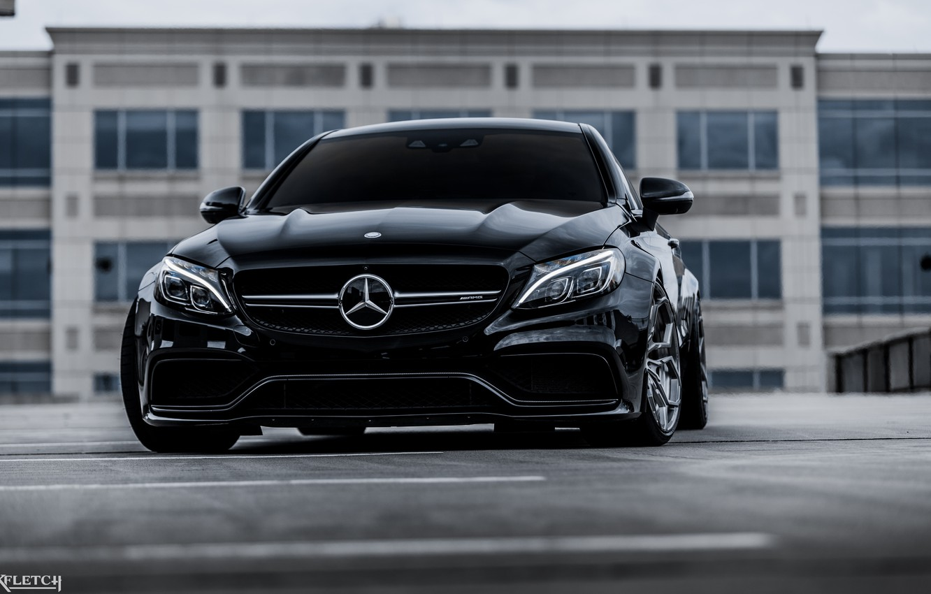 Photo wallpaper coupe, Mercedes - Benz, c63s amg