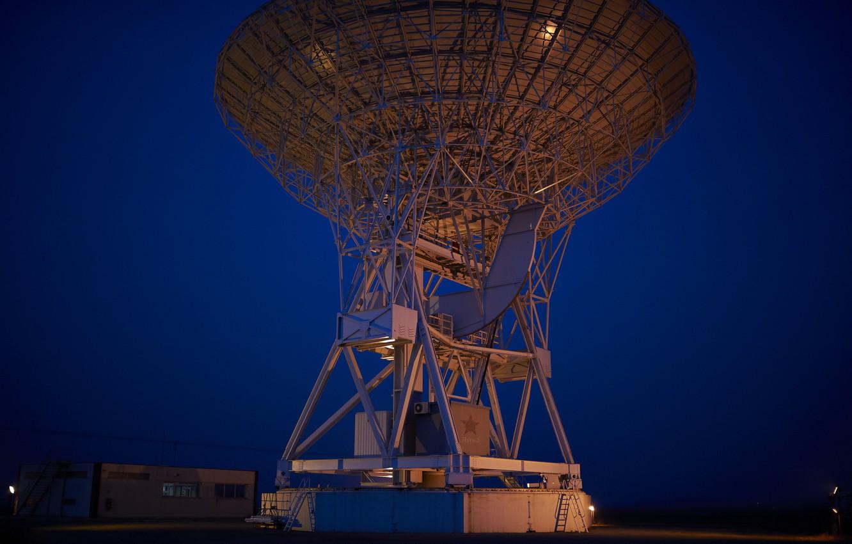 Photo wallpaper antenna, Komsomolsk on Amur, radar, arc 2