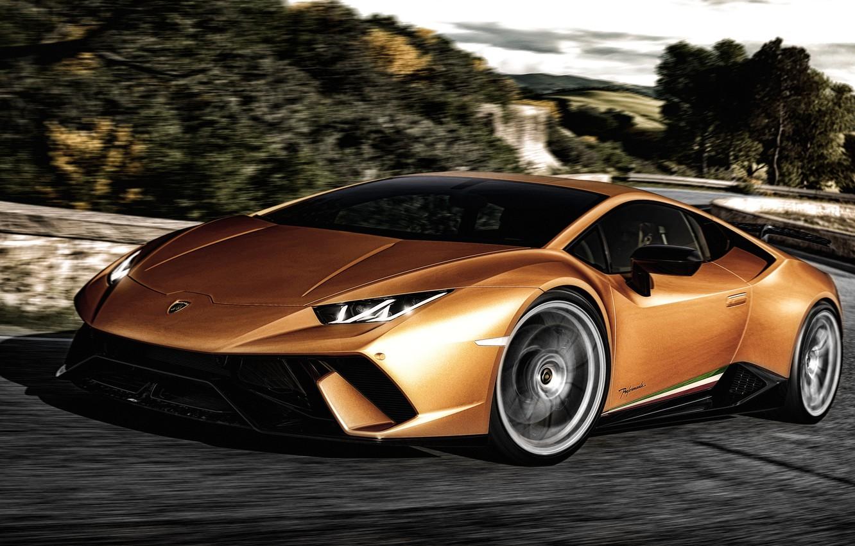 Photo wallpaper Lamborghini, Lamborghini, Huracan, hurakan