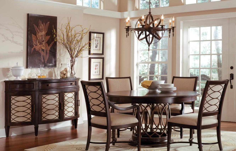 Photo wallpaper room, interior, dining room
