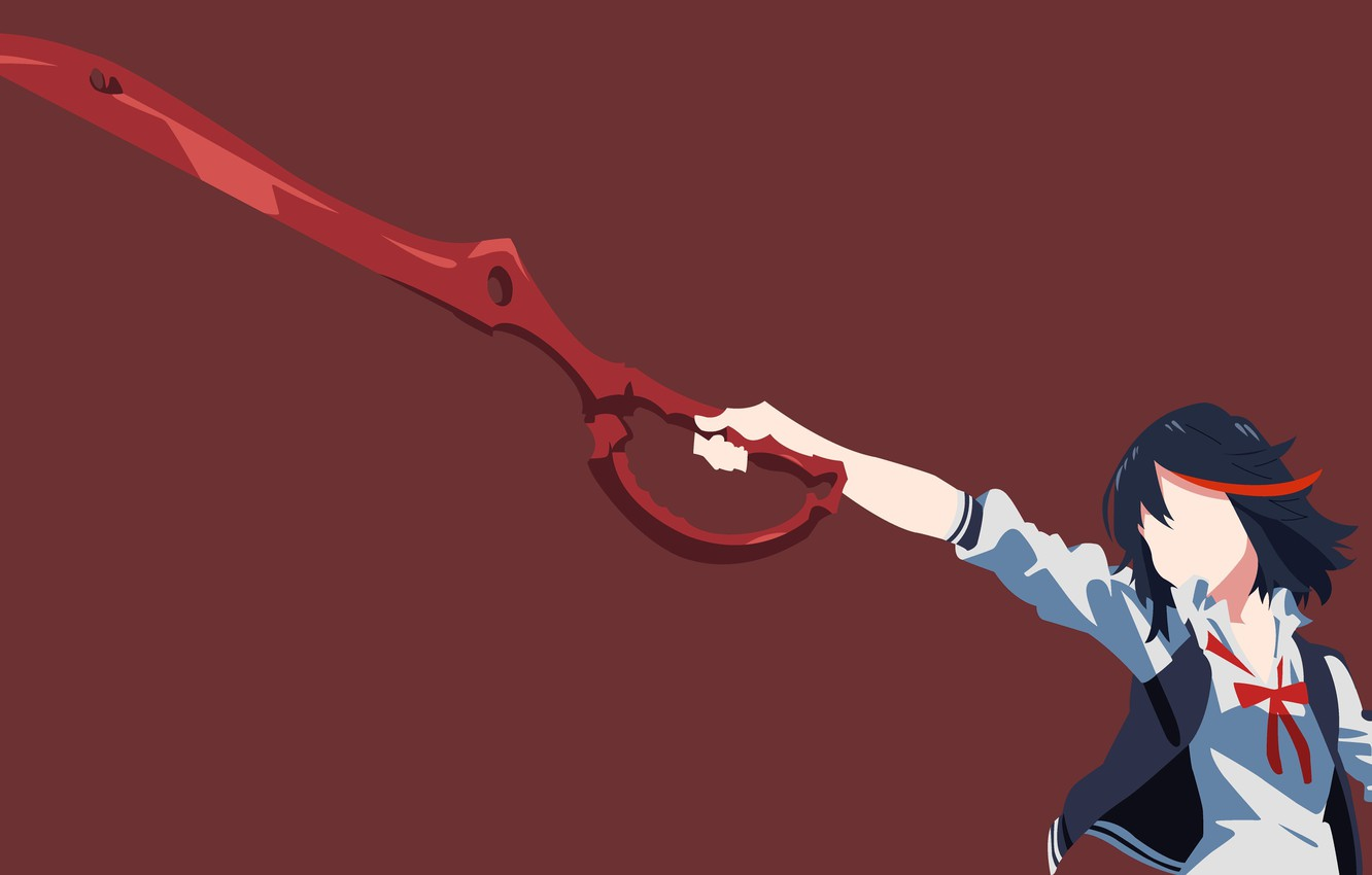 Wallpaper Sword Anime Ken Blade Brunette Scissors