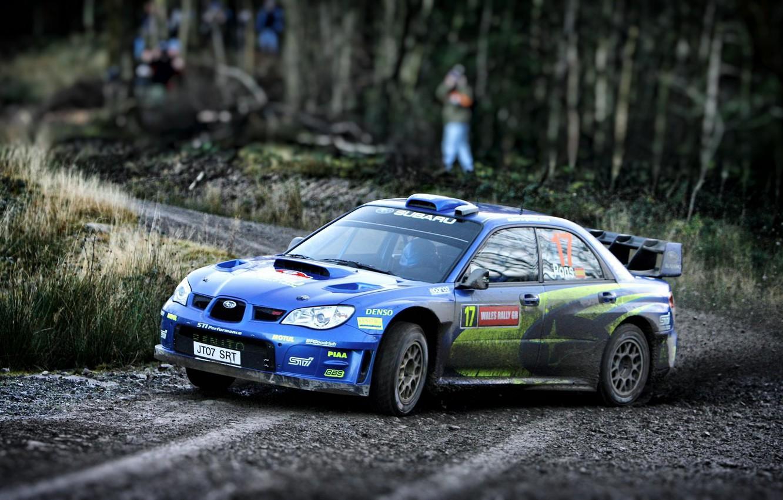 Photo wallpaper Auto, Subaru, Impreza, Sport, Machine, Race, WRX, Car, STI, Subaru, Impreza, WRX STI, Rally, Rally, …
