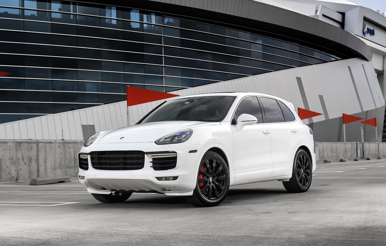 Photo wallpaper Porsche, with, Turbo, color, Cayenne, customized