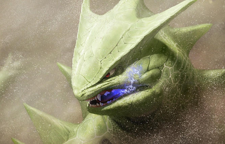 Photo wallpaper game, monster, big, anime, animal, Pokemon, manga, japanese