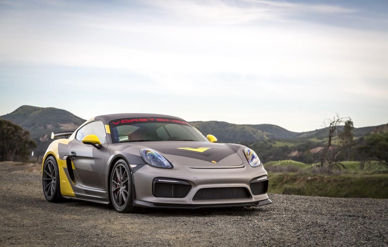 Photo wallpaper car, Porsche, Porsche Cayman, montain, Porsche Cayman GT4, Porsche Cayman GT4 Vorsteiner