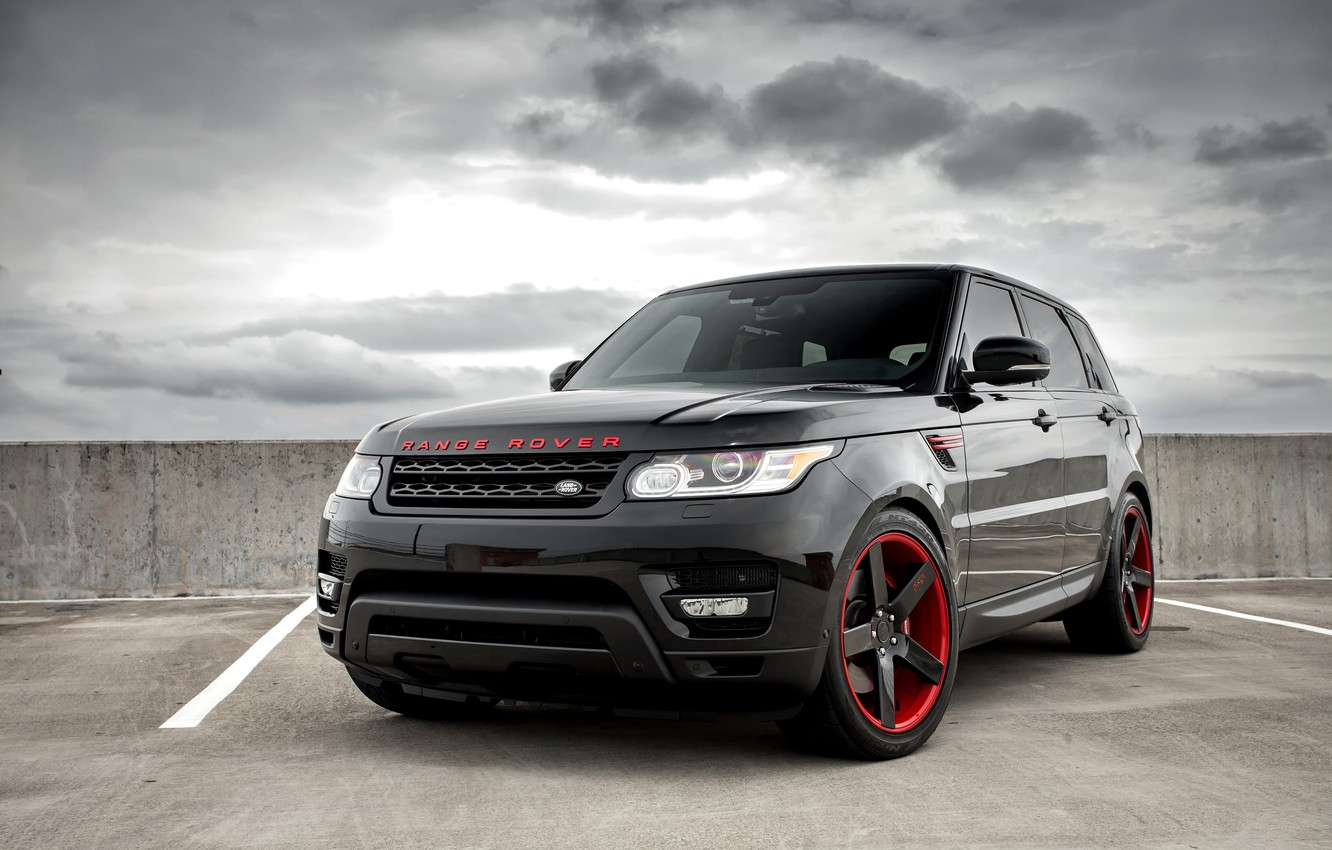 Photo wallpaper Range Rover, with, color, Sport, Supercharged, matched, Niche wheels