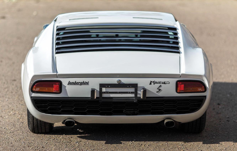 Wallpaper Auto Lamborghini White Machine 1971 Car Supercar