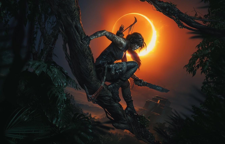 Photo wallpaper Tomb Raider, Lara Croft, Shadow of the Tomb Raider