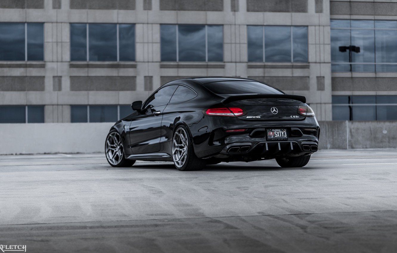 Photo wallpaper AMG, COUPE, mercedes C 63s
