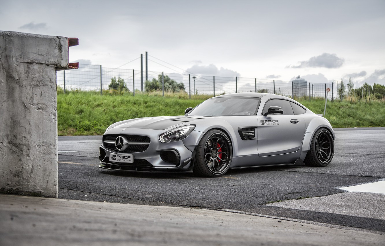 Photo wallpaper coupe, Mercedes-Benz, Mercedes, supercar, Mercedes, AMG, Coupe, Prior-Design, C190, PD800GT, GT-Class