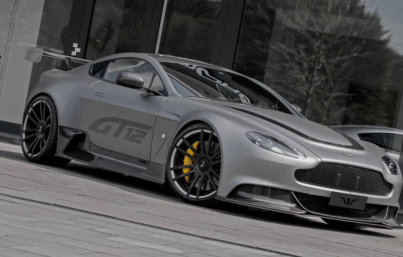 Photo wallpaper Vantage, Aston martin, Wheelsandmore, VIP, GT12