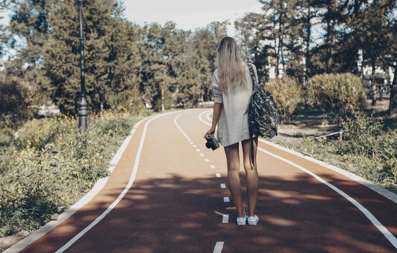 Photo wallpaper summer, girl, the sun, mood, camera, morning, girl, walk, Falcon, photo, photographer, camera, mood, olga …