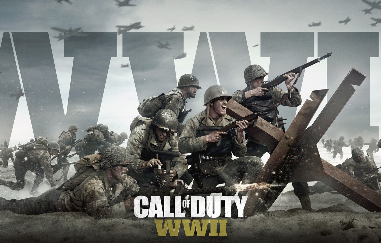 Wallpaper Game Activision Call Of Duty Wwii Images For Desktop